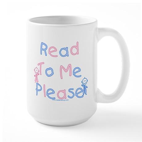Read to Me Babies Large Mug