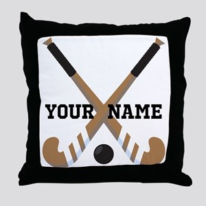 Hockey Coach Gift Throw Pillow