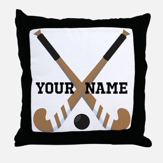 Hockey Coach Gift Throw Pillow