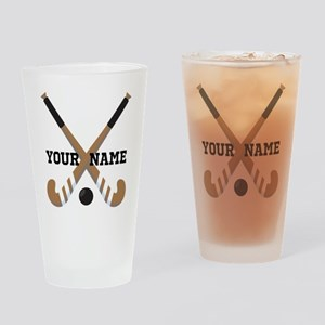 Hockey Coach Gift Drinking Glass