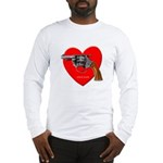 Love Gun Visual Shirt Long Sleeve T-Shirt