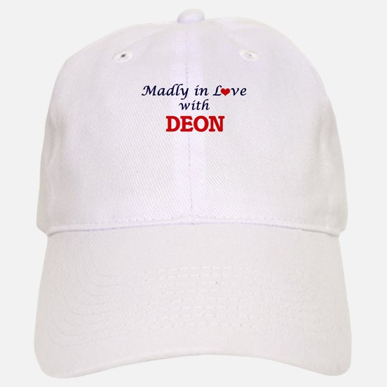 Madly in love with Deon Baseball Baseball Cap
