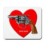 Love Gun Visual Shirt Mousepad