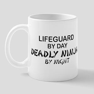 Lifeguard Deadly Ninja by Night Mug