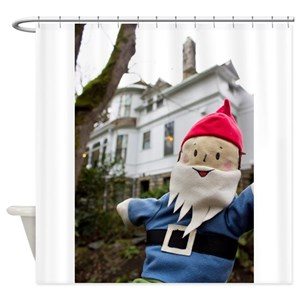 Garden Gnome Shower Curtains