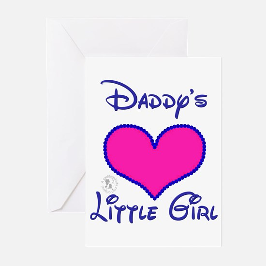 Daddy's Little Girl Greeting Cards (Pk of 10)