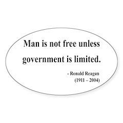 Ronald Reagan 4 Oval Decal