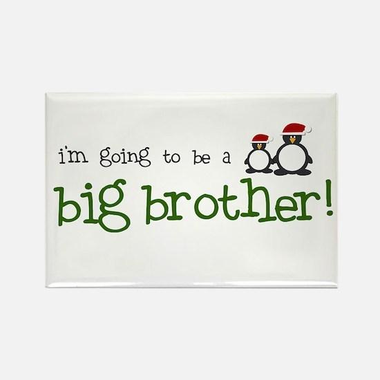 big brother penguin Rectangle Magnet