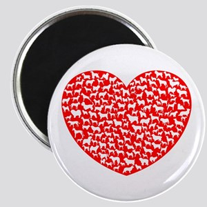 Love Dogs Magnet