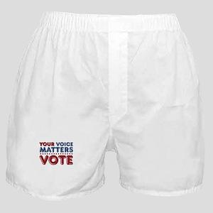 Your Voice Matters Boxer Shorts