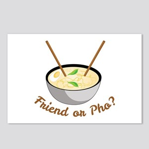 Friend Or Pho Postcards (Package of 8)