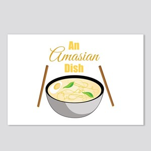 Amasian Dish Postcards (Package of 8)