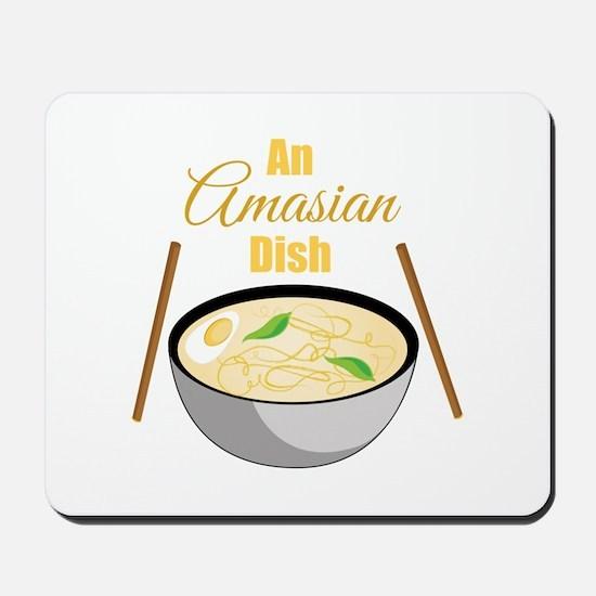Amasian Dish Mousepad