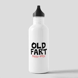Happy 60th Old Fart Water Bottle