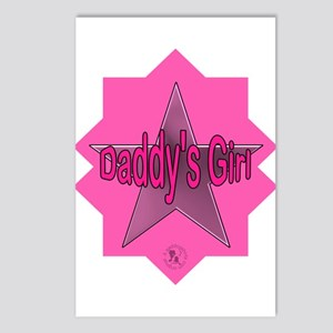 Daddy's Girl (Star) Postcards (Package of 8)