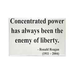 Ronald Reagan 5 Rectangle Magnet