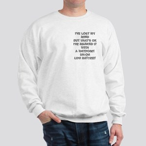 Geocacher Lost Mind Pocket Image Sweatshirt