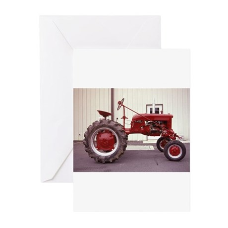 Ole Red Tractor Greeting Cards (Pk of 10)