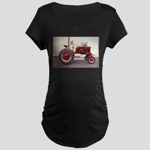 Ole Red Tractor Maternity Dark T-Shirt