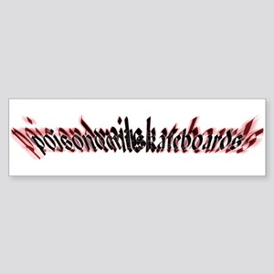 poison devil Bumper Sticker