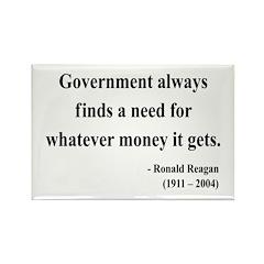 Ronald Reagan 7 Rectangle Magnet