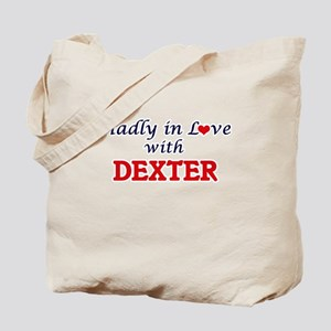 Madly in love with Dexter Tote Bag