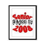 Senior Class of 2008  Framed Panel Print