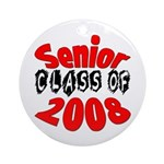 Senior Class of 2008 Ornament (Round)