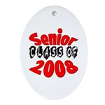 Senior Class of 2008 Oval Ornament