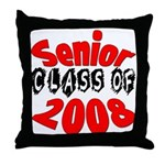 Senior Class of 2008  Throw Pillow