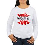 Senior Class of 2008 Women's Long Sleeve T-Shirt