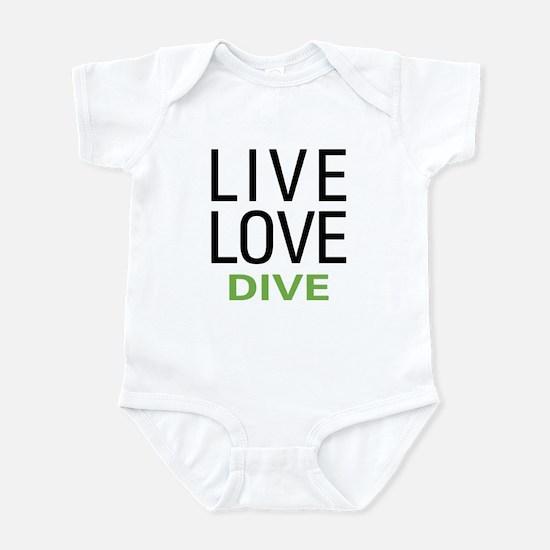 Live Love Dive Infant Bodysuit