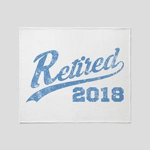 Retired 2018 Vintage Throw Blanket