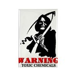 Toxic Chemicals Rectangle Magnet