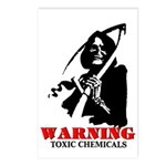 Toxic Chemicals Postcards (Package of 8)