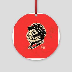 Chairman Meow Propaganda Ornament