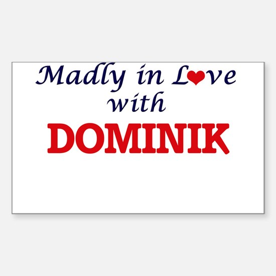 Madly in love with Dominik Decal