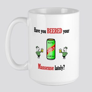 Masseuse Large Mug