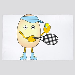 Tennis Egghead 4' x 6' Rug