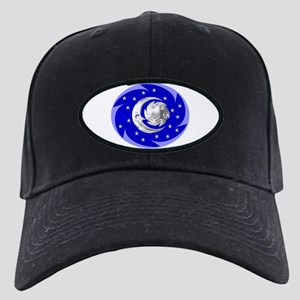 Sun, Moon & Stars Black Cap
