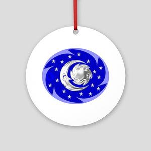 Sun, Moon & Stars Ornament (Round)