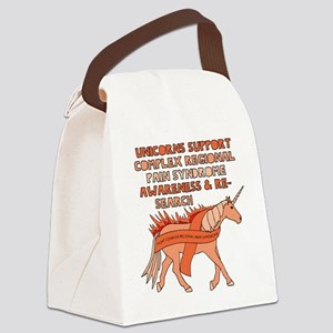 Unicorn Support Complex Regional Canvas Lunch Bag