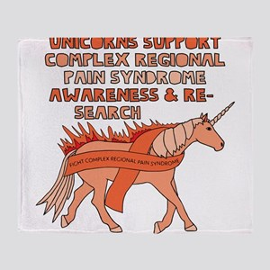 Unicorn Support Complex Regional Pai Throw Blanket
