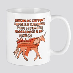 Unicorn Support Complex Regional Pain Syndrom Mugs