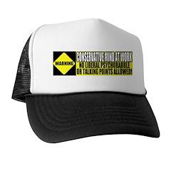 No Liberal Psychobabble Trucker Hat