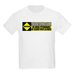 No Liberal Psychobabble Kids T-Shirt