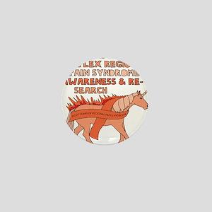 Unicorn Support Complex Regional Pain Mini Button