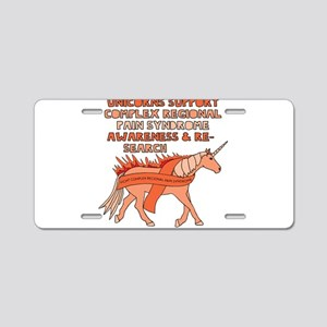 Unicorn Support Complex Reg Aluminum License Plate