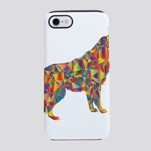 Prismatic Rainbow Howling Wo iPhone 8/7 Tough Case
