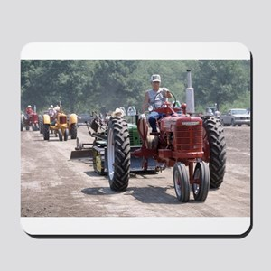 Tractor on Dirty Road Mousepad